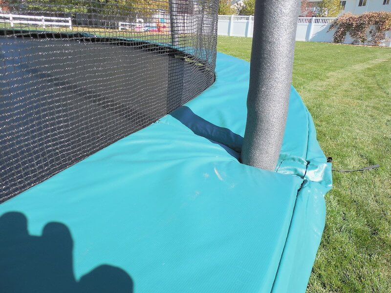Heavy Duty Woven Safety netting for a spring free jump zone